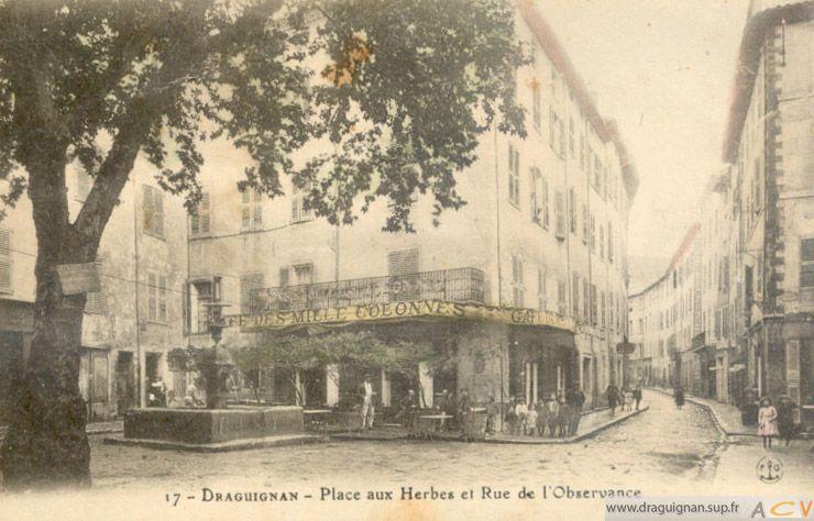 Draguignan d 39 hier et d 39 aujourd 39 hui ville photos d for La fontaine aux cuisines